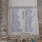 Memorial to soldiers