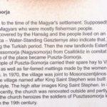 Pusztasomorja church history