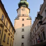 City gate in Bratislava