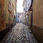 Back alley in Bratislava