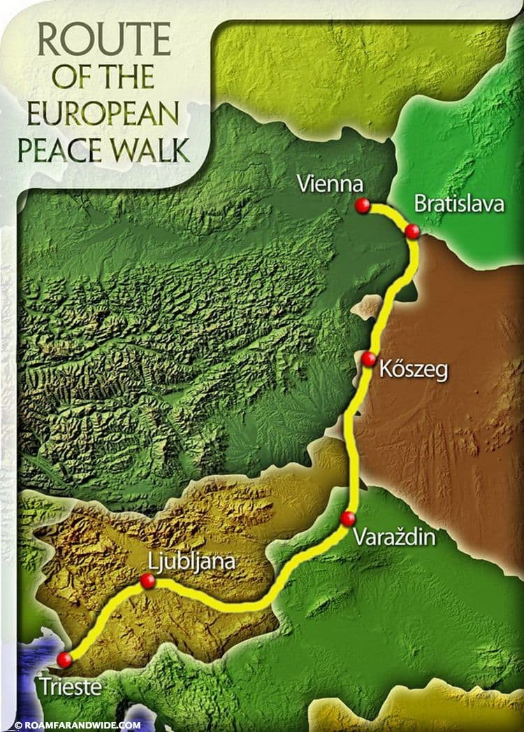 European Peace Walk 2015