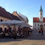 Old town Varazdin, Croatia