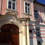 Former palace in Varazdin, Croatia