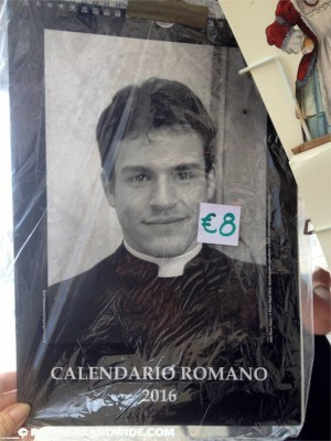 Sexy priest calendar!