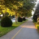 Clean sidewalks and bike paths