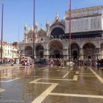 Flooded St. Mark's Piazza