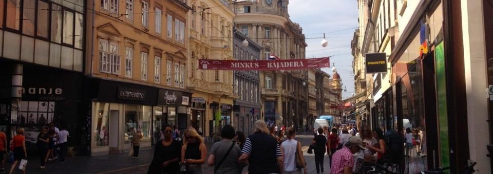 European Peace Walk: Day 17: Zagreb, Croatia