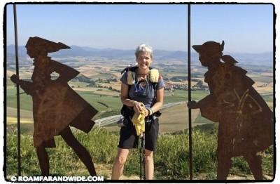 Camino de Santiago Pilgrim Laura