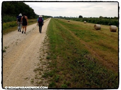 Walking along the Hungary-Austria border
