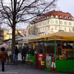 Outdoor market in Munich