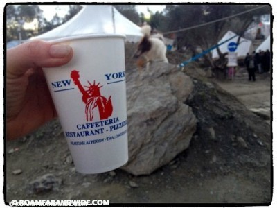 The cups used at Better Days for Moria today.