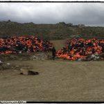 Lifejackets in Molivos
