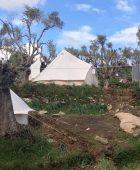 Refugee Camp at Better Days for Moria