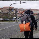 Pilgrims in Porto, Portugal