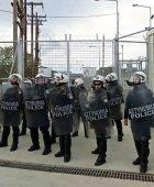 Police in Moria