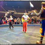Clowns during pre-show.