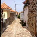 Typical street in Molyvos