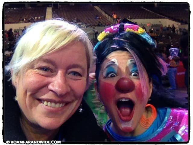 My clown friend.