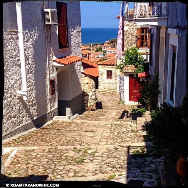 In Molyvos, great views are around every corner.