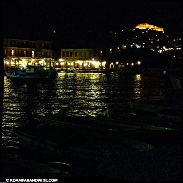 Molyvos, Greece at Night