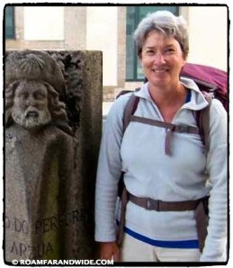 Carol on the Camino