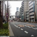 Walking in Tokyo