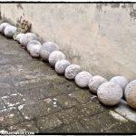 Stone cannonballs