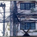 Wiring above Chiang Mai streets