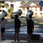 School band practice