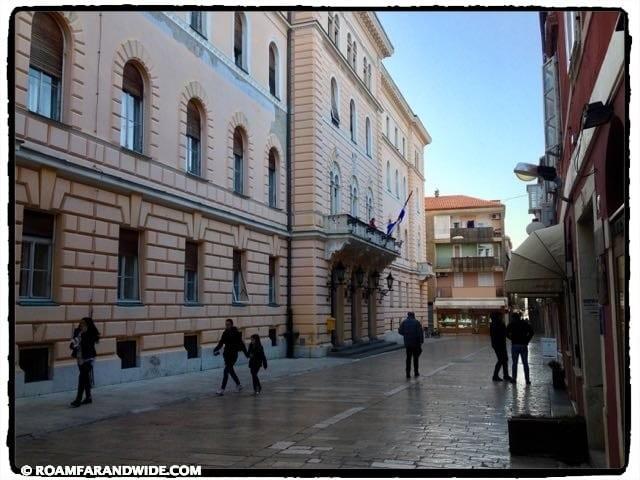 Street of Zadar