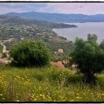 Overlooking Molyvos