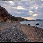 Golden Beach, Lesvos Island