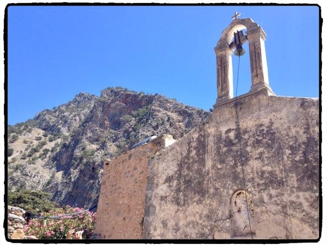 Old Church in Agia Roumeli